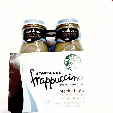 Starbucks Frappuccino Mocha Light - 4pk 9.5oz