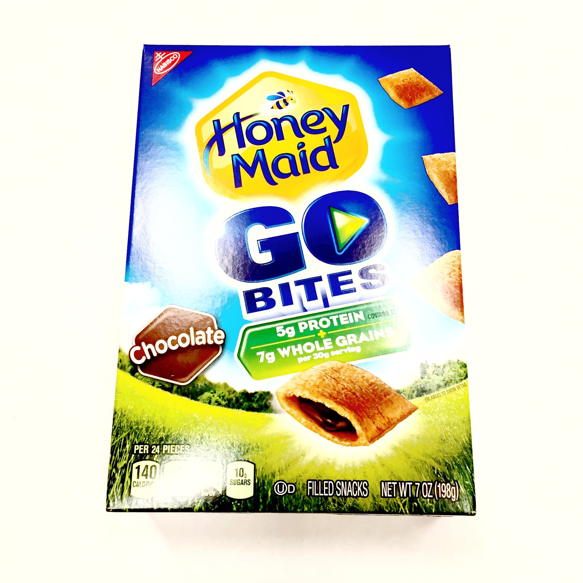 Honey Maid Chocolate Go Bites - 7oz