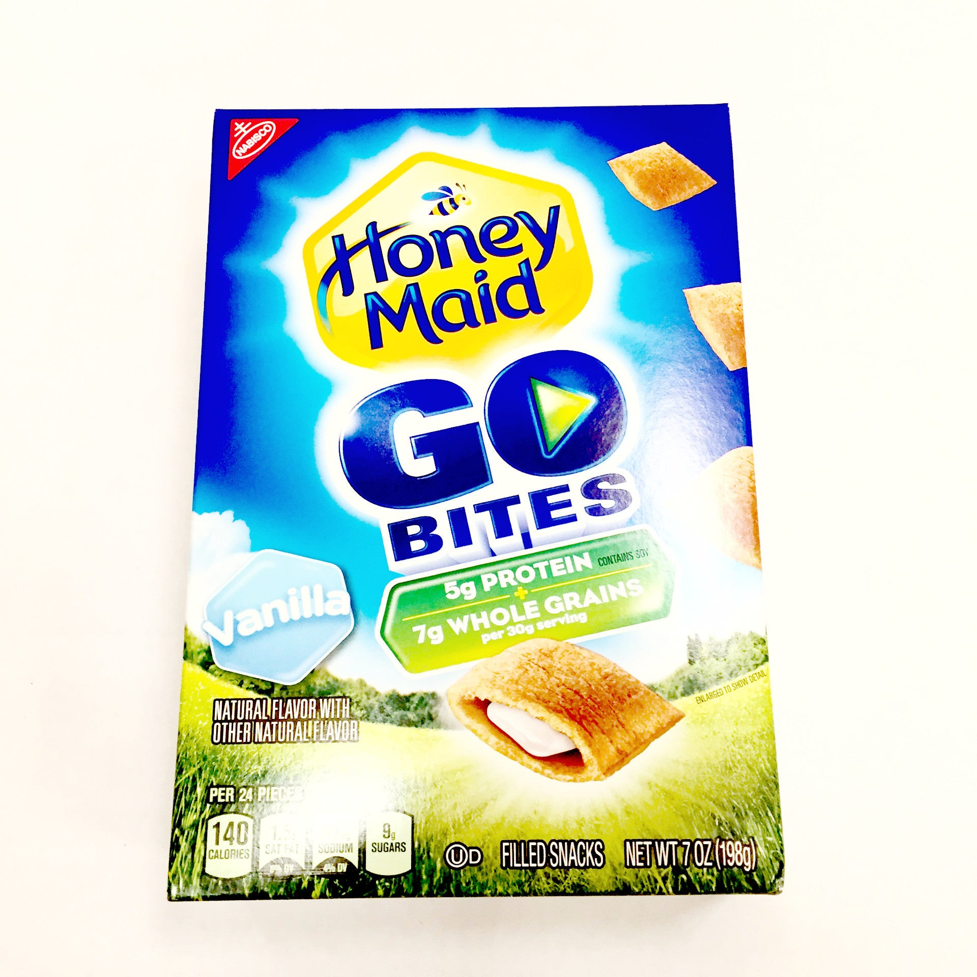 Honey Maid Vanilla Go Bites - 7oz