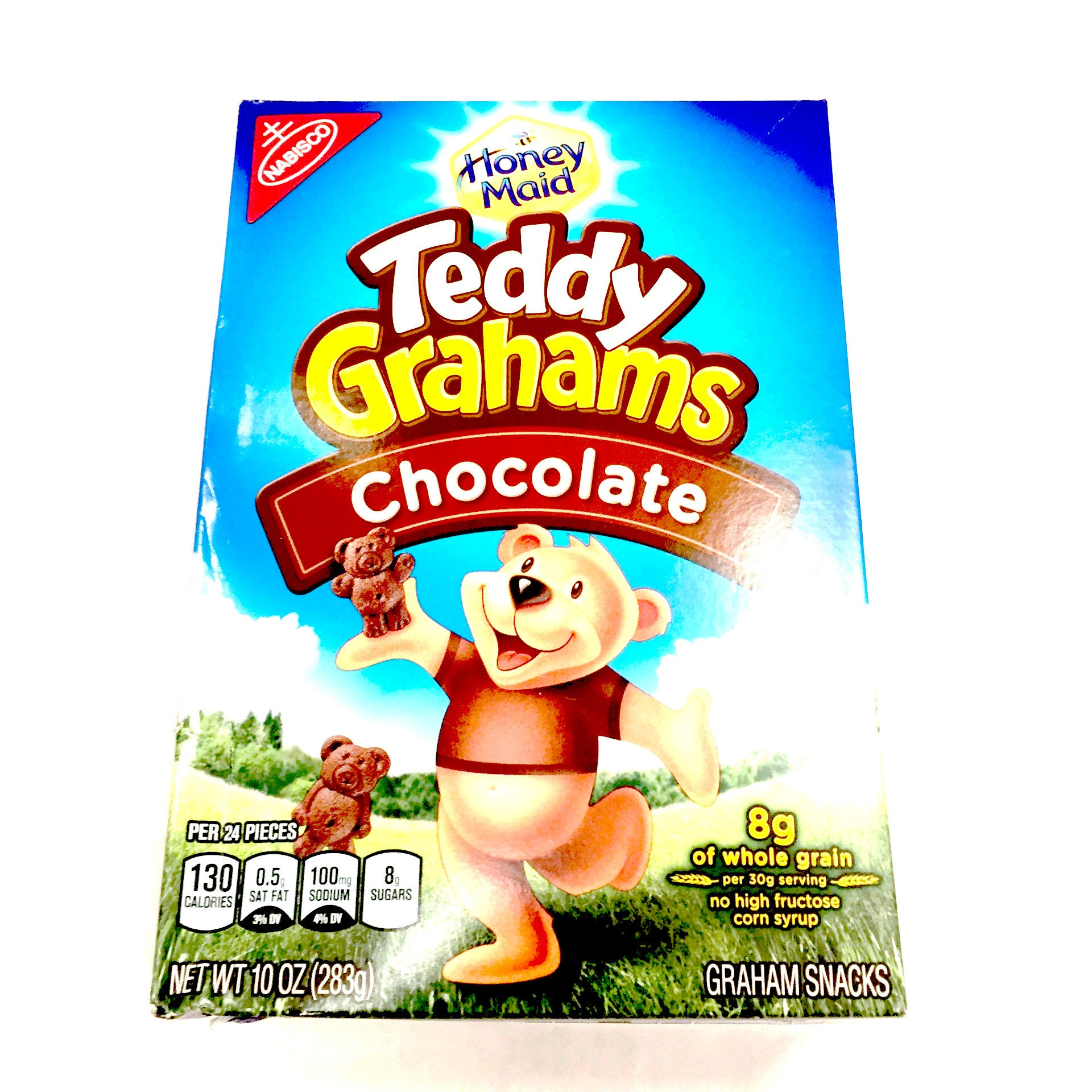 Honey Maid Teddy Grahams Chocolate - 10oz