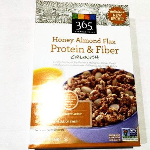 365 Organic Honey Almond Flax Protein & Fiber - 13oz