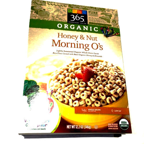365 Organic Honey & Nut Morning O's - 12.2oz
