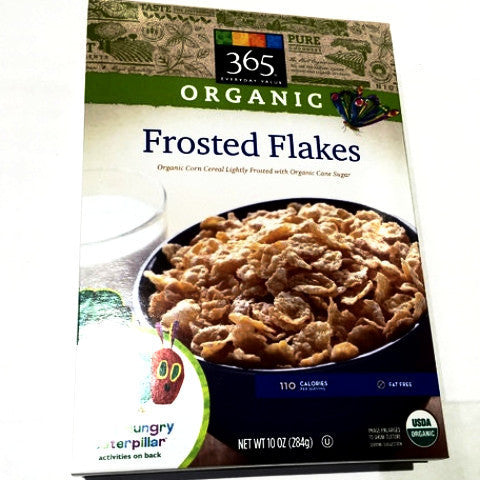 365 Organic Frosted Flakes - 10oz