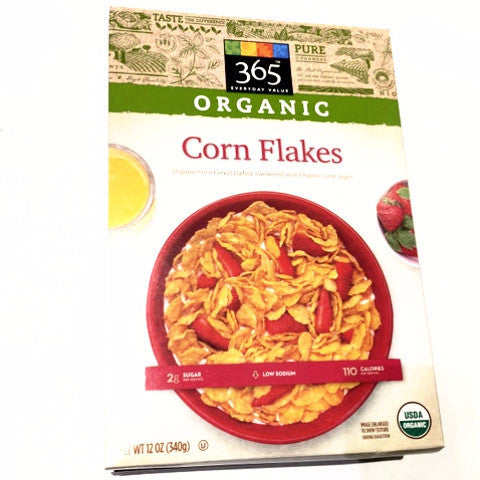 365 Organic Corn Flakes - 12oz