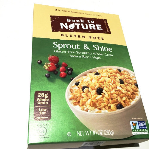Back to Nature Sprout & Shine Gluten Free Whole Grain Rice Crisps - 10oz