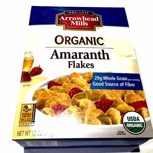 Organic Arrowhead Amaranth Flakes - 12oz