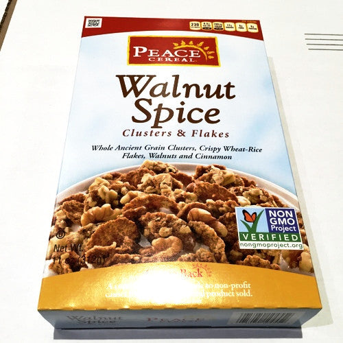 Peace Cereal Walnut Spice - 11oz