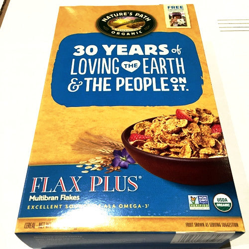 Nature's Path Organic Flax Plus - 13.25oz