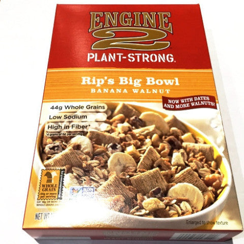 Engine 2 Rip's Big Bowl Banana Walnut - 13oz