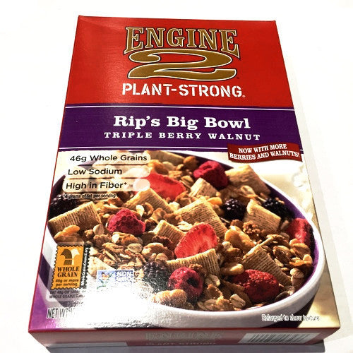 Engine 2 Rip's Big Bowl Triple Berry Walnut - 13oz