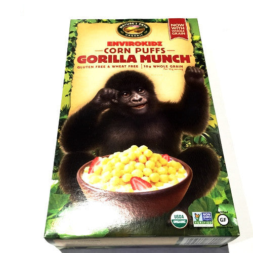 Envirokidz Gorilla Munch Corn Puffs - 10oz
