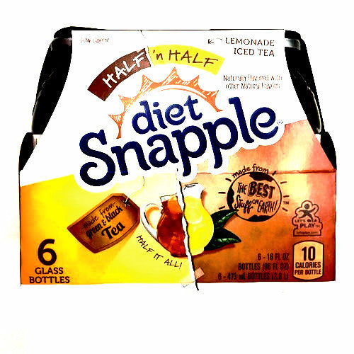 Diet Snapple Lemonade Iced Tea - 6 pack, 16 fl oz each
