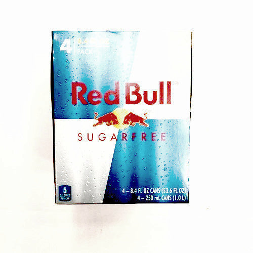 Red Bull Sugar Free Energy Drink - 8.4oz 4pk