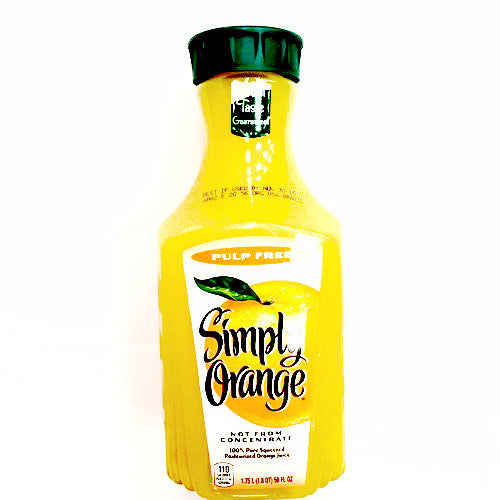 Simply Orange Original Pulp Free - 1.75L*