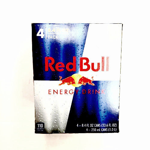 Red Bull Energy Drink - 8.3oz, 4pk