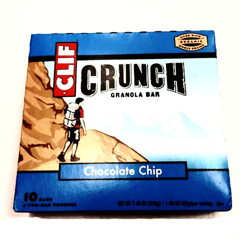 Clif Crunch Chocolate Chip Granola Bars - 5ct