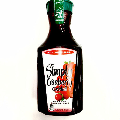 Simply Cranberry Juice Cocktail - 1.75L