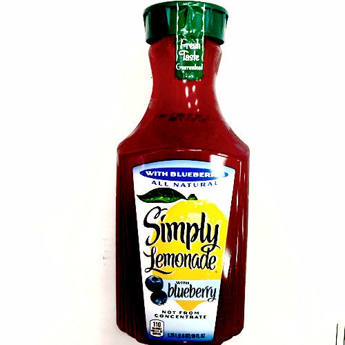 Simply Lemonade with Blueberry - 1.75L