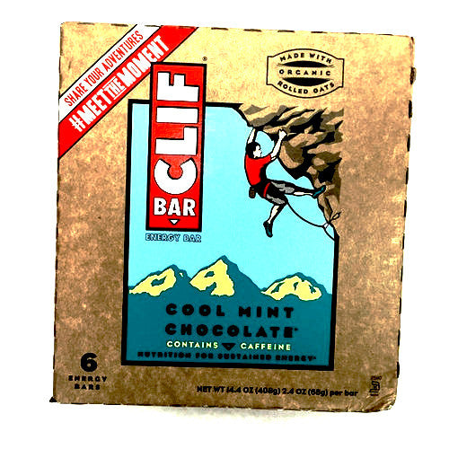 Clif Bar Cool Mint Chocolate - 6 Energy Bars