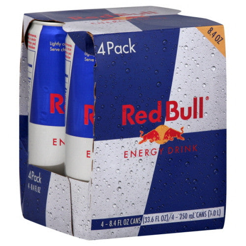 Red Bull - Original - 4pk - 8.4 fl oz cans