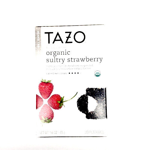 Tazo Organic Sultry Strawberry Tea