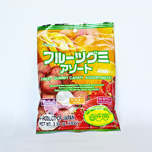 Kasugai Fruit Gummy Candy Assortment, 3.59 oz