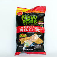 New York Style Red Hot Chili Pepper Pita Chips