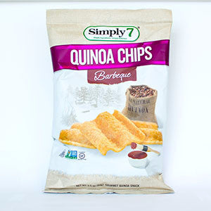 Simply 7 Quinoa Barbeque Chips, 5 oz