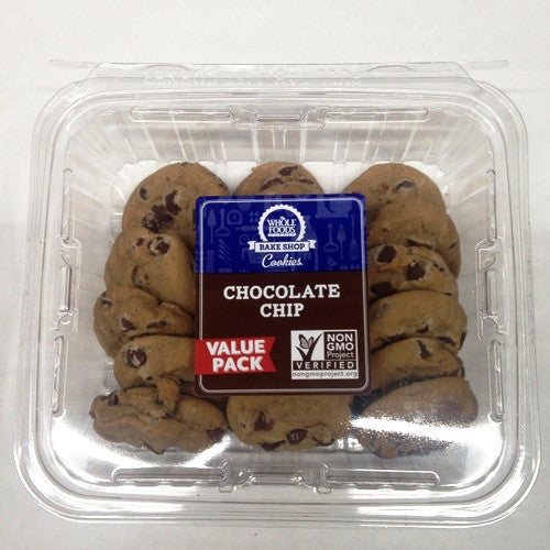 Whole Foods Chocolate Chip Cookies - 18ct