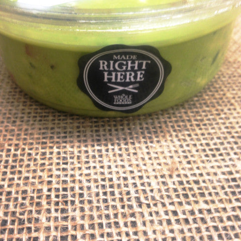 Whole Foods Guacamole ~ 8oz