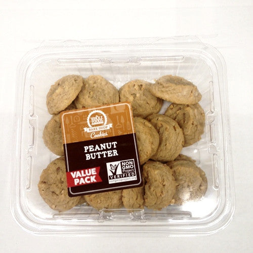 Whole Foods Peanut Butter Cookies - 18ct