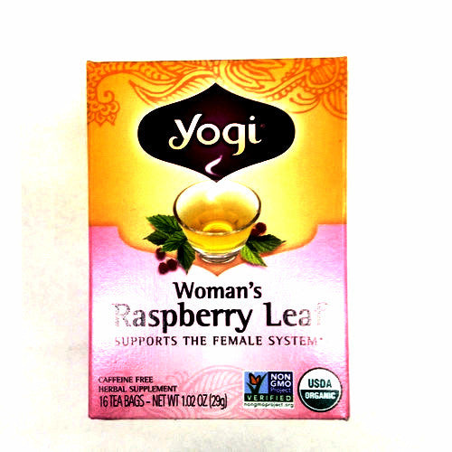Yogi Woman's Raspberry Leaf Tea