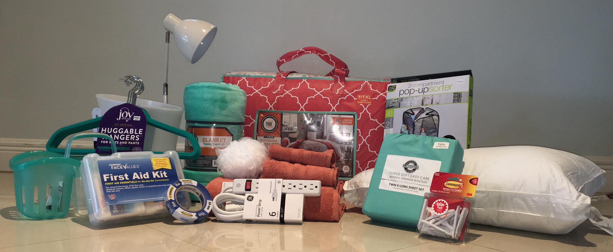 Create Your Own Dorm Essentials Package