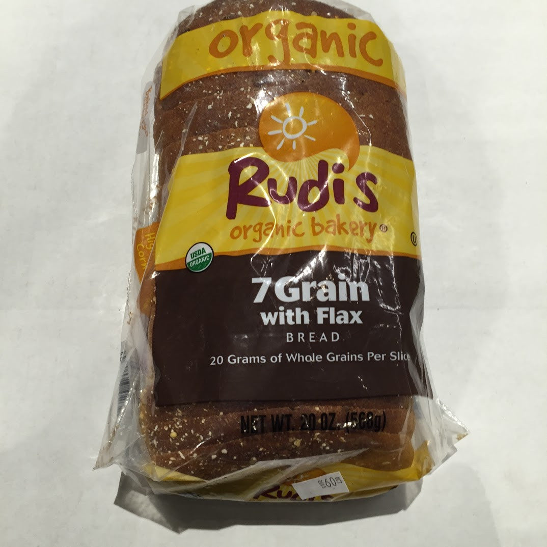 Rudi's Organic Bakery: 7 grain Bread - 20 oz