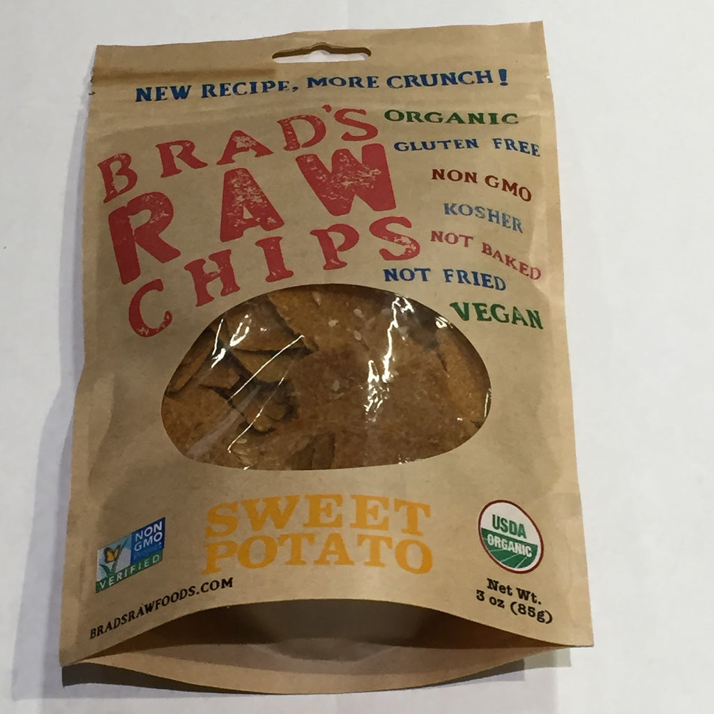 Brad's Raw Chips: Sweet Potato - 3 oz