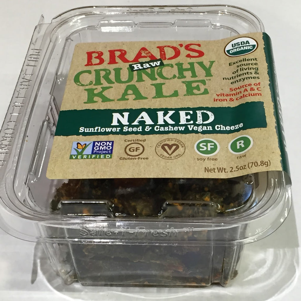 Brad's Raw Crunchy Kale: Naked - 2.5 oz