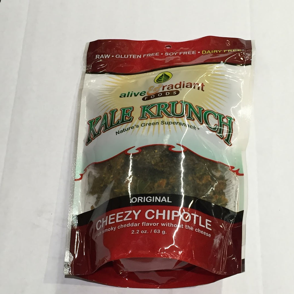 Alive and Radiant Kale Krunch: Cheezy Chipotle - 2.2 oz