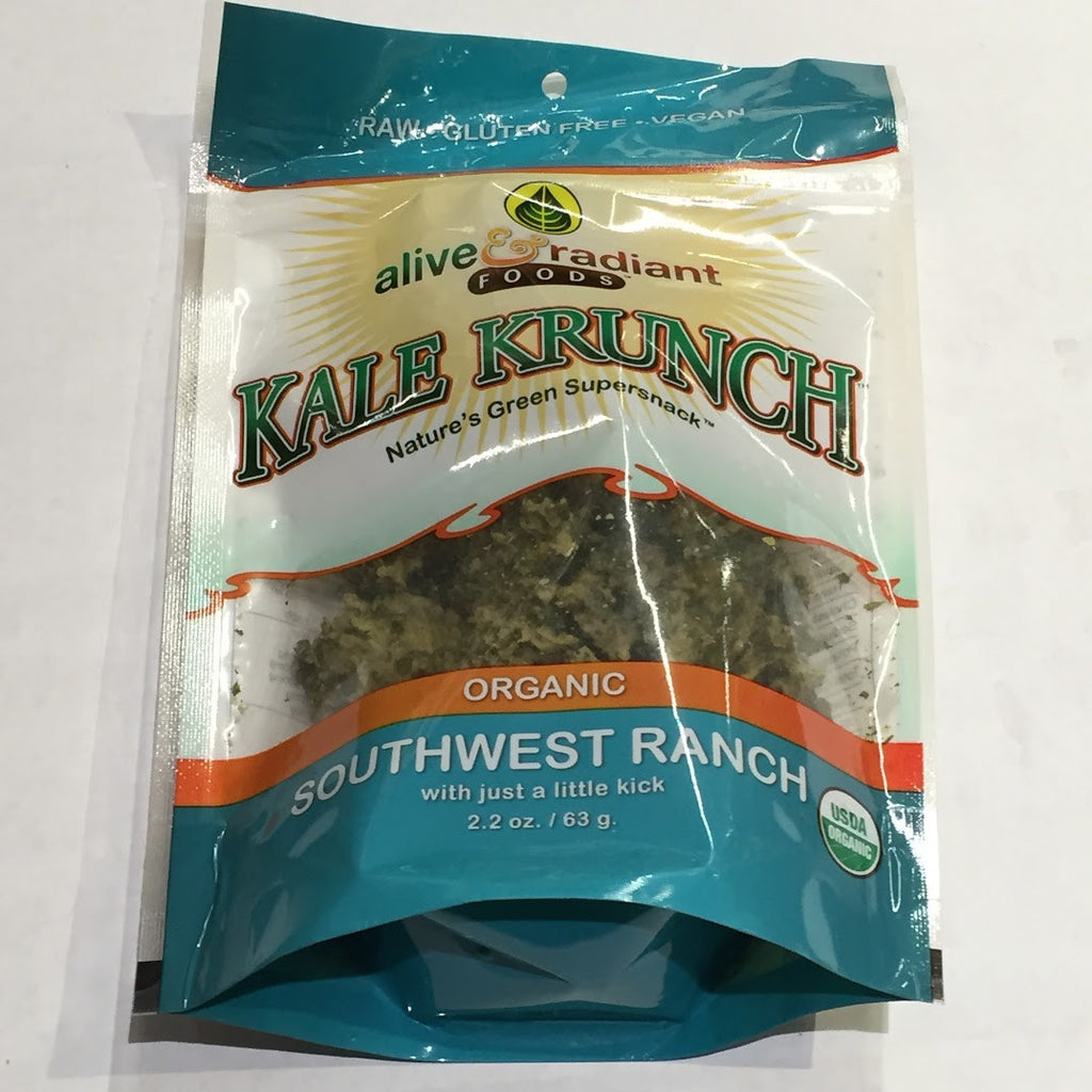 Alive and Radiant Kale Krunch: Southwest Ranch - 2.2 oz