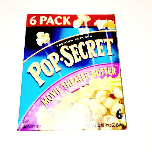 Pop Secret Movie Theater Butter Popcorn - 10 pk, 3.2 oz each