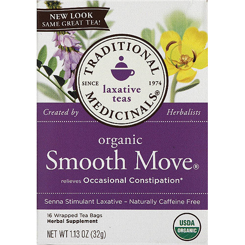 Traditional Medicinals Smooth Move Laxative Tea -  16 tea bags