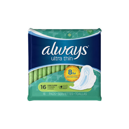 Always Ultra Thin Pads - 16 pads