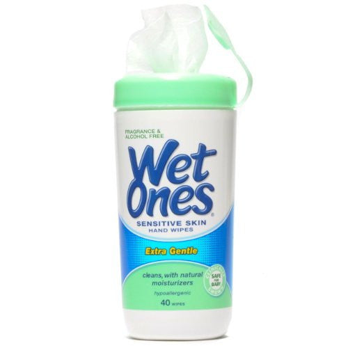 Wet Ones Sensitive Skin Wipes - 48 ct