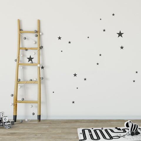250 x Nursery Stars Children's Wall Stickers