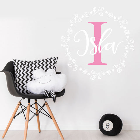 Custom Name Children's Wall Sticker