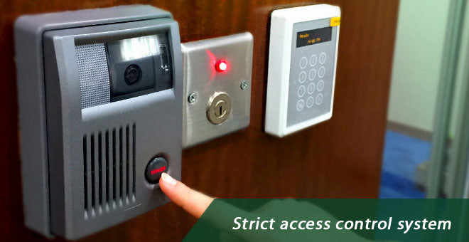 Strict access control system