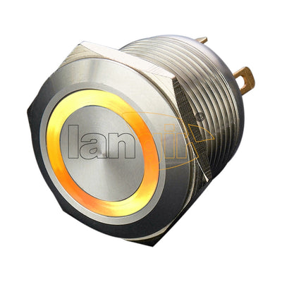 Ls19(19mm) Economy type Stainless Steel Anti Vandal Switches