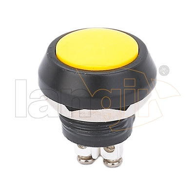 V12 YELLOW Anti vandal switch for Zn-Al Alloy Material and Round