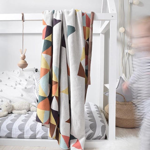 Ofortywinks bunting grey single bed fitted sheet set