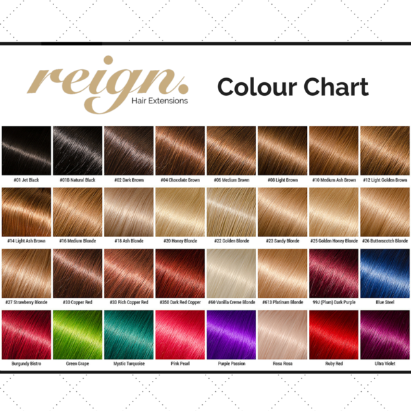 What colour hair extensions do you offer?