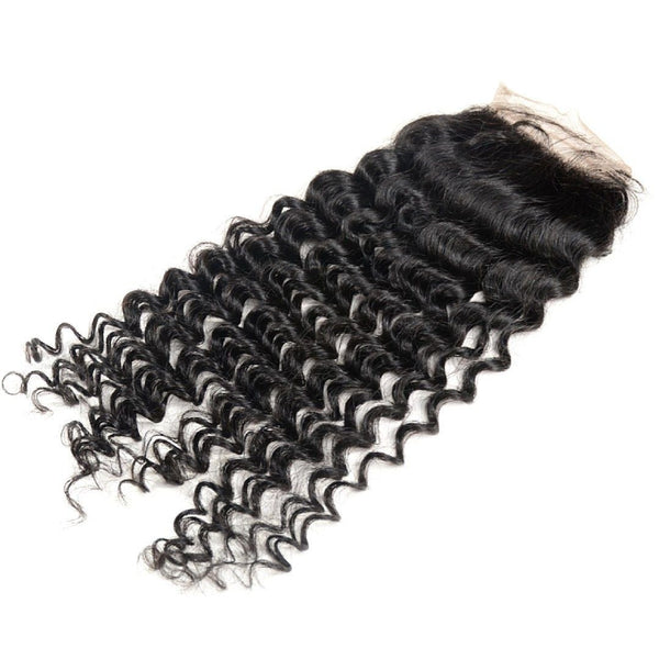 Deep Curly Lace Closure - Weave Got It Canada -  - Lace Closure - Weave Got It Canada - 1